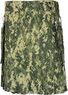 Army Green Camo Kilt