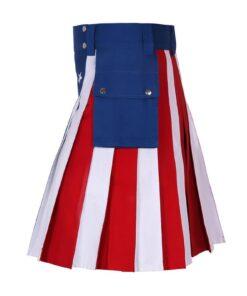 American Flag Kilt Usa
