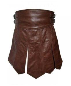 Viking Leather Kilt