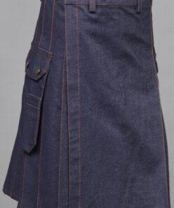 Denim Jeans Kilt