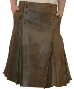 Gladiator Warrior Leather Kilt