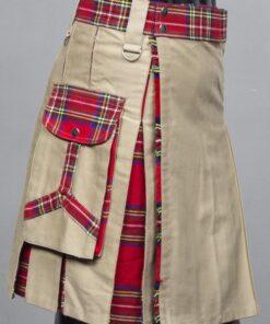 Khaki Hybrid Kilt