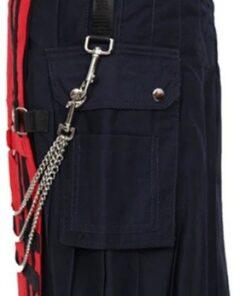 Red Deluxe Utility Fashion Kilt2