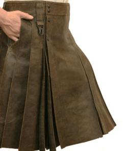 Warrior Leather Kilt