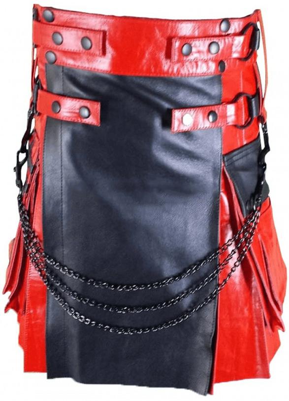 Modern Leather Kilt Hybrid