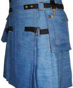 Fashion Denim Kilt